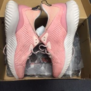 adidas Shoes - NEW ADIDAS ALPHABOUNCE PINK RUNNING SNEAKERS